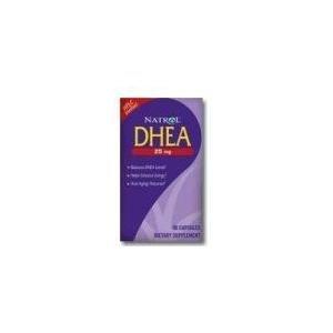 Natrol DHEA, 100% Vegetarian, 10mg Tablets, 30-Judge (Pack of 2)