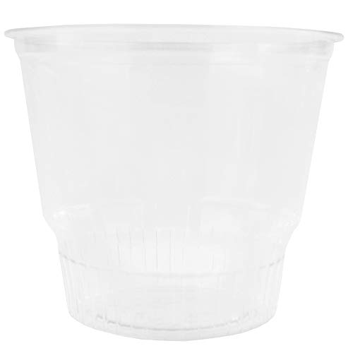 Clear Plastic Sundae Cup - 12 oz Disposable Dessert Bowls - Perfect For Your Yummy Foods! Many Sizes - Frozen Dessert SuppliesLid Sold Separately - Fast Shipping! 100 Count