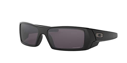 Oakley Mens Sunglasses Black Matte/Grey - Non-Polarized - 60mm (Oakley Sonnenbrille Matte Black)