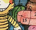 Tigerente /& B/är Janosch Adventskalenderkarte Advent Advent
