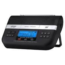Maxx Digital Automatic Alert Radio w/alarm clock