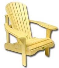 Bc201p Bear Chair - Pine Adirondack Chair Kit - Unassembled by Bear Chair