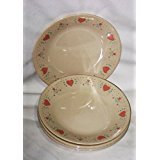 Corelle Forever Yours 6 3/4 Inch Bread Desert Plate, Set of - Forever Yours Bread