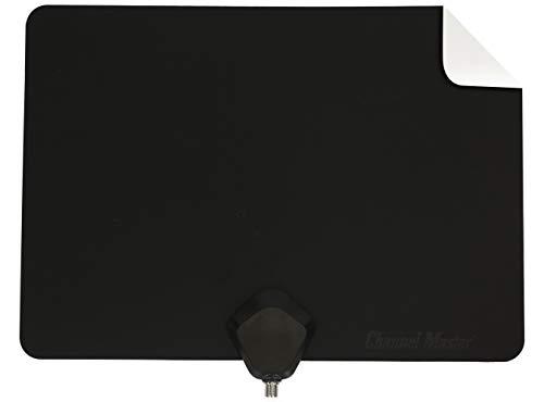 Channel Master Flatenna Ultra-Thin Indoor TV Antenna 35 Mile Range - Dual Sided Black or White - CM-4001HDBW (Orlando Furniture City)
