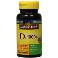 Nature Made Vitamin D 1,000IU, 100 Tablets (Pack of 3) Thank you for using our service GIP Super Market