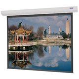 - Designer Contour Electrol Matte White Electric Projection Screen Viewing Area: 50