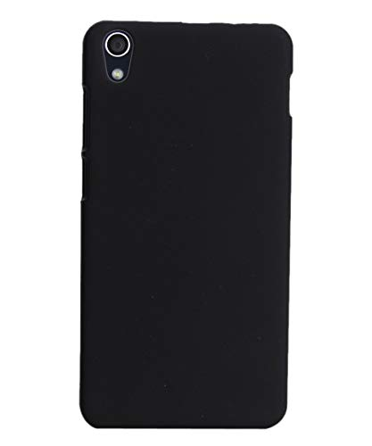 Coverage Plastic Back Cover for OnePlus X  ONE E1003   Black