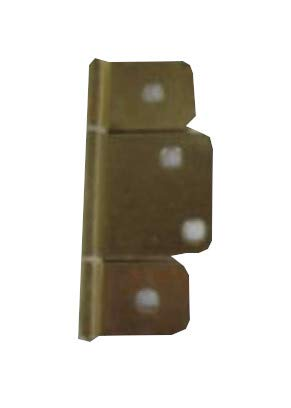 Mobile Home RV Interior Door Hinges Package of 6 Non-Mortise Polished Brass,great