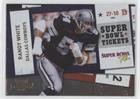 (Randy White #42/100 (Football Card) 2010 Playoff Contenders - Super Bowl Tickets - Gold #28 )