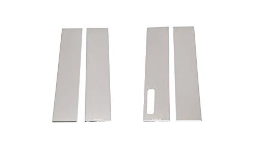 Putco 402678 F150 Stainless Steel Pillar Trim with Keypad - Pillar Steel Stainless Trim