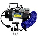 Goodyear Heavy Duty 120 Volt Direct Drive Electric Tire Inflator, Plugs Into Any Standard 120V Wall Outlet