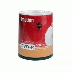 Disc DVD-R 4.7GB for General use 16X Silver 100/pk spindle Retail Tray