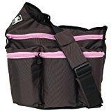 Diaper Dude Bag, Brown Pink (Diaper Bag Pink And Brown)
