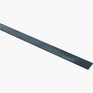 National Hardware N215-533 4062BC Solid Flat in Plain Steel, 3/4'' x 48''