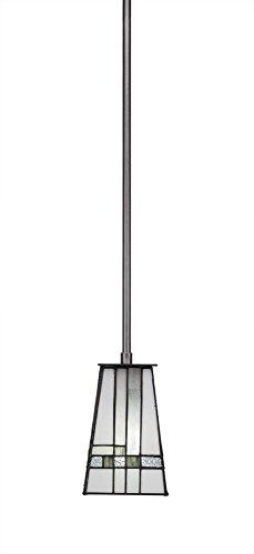 Lighting Pendant Apollo (Toltec Lighting Apollo 3 Stem Mini Pendant New Deco Tiffany Glass)