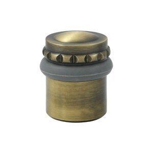 Deltana UFBP4505U5 Floor Stop 1-5/8 Inch Height Solid Brass Round Universal Floor Bumper Pattern Cap