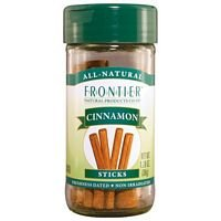 Frontier Herb Organic Cinnamon Stick - Seasoning, 2 3/4 inch Long - 3 per case.