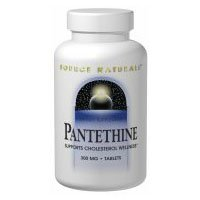 Pantethine, 25 mg, 30 Tabs by Source Naturals (Pack of 3)