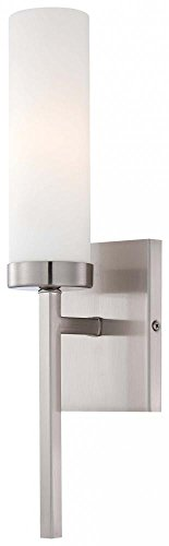 - Minka Lavery Wall Sconce Lighting 4460-84 Glass 1LT 60 Watt (15