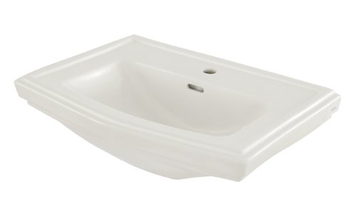 TOTO Lt780#01 Clayton 1-Hole Trad Lavatory, Cotton White