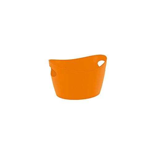 Bottichelli Washtub L Solid BLACK Koziol Solid Orange