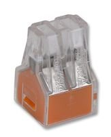 CONNECTOR, PUSHWIRE, 2.5SQMM, 4WAY 773-104 Pack of 10 By WAGO & Best Price Square 773-104-WAGO_IT