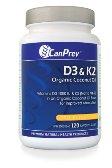 Cheap D3+K2 – Organic Coconut Oil Base-120 softgels Brand: CanPrev