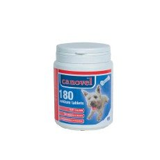 Canovel Calcium 180 Tabs, Growth and Improve The Health of Puppies and Pregnant and lactating Bitches.