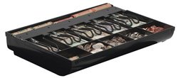 Mmf Cash Drawer 225-286104 MMF Duralite Cash Tray, Small, 5 Coin, 5 BILL, Polystyrene, 14-3/8