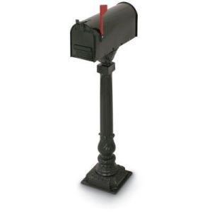 Decorative Bolt Mounted Mailbox Posts - 3