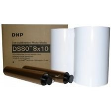 DNP DS80 8 x 10 inch Dyesub Printer Media Kit, 260 Glossy Prints by DNP