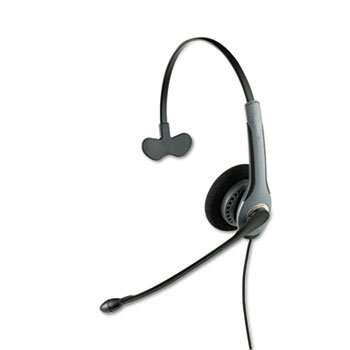Monaural Boom Flex - GN 2020NCNB Cord Flex Over-Head Standard Telephone Headset