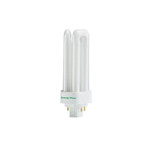 Cfl Tri Tube - 10 Pack 26 Watt T4 GX24Q-3 3500K 10000 Hour Dimmable Triple Tube Compact Fluo...