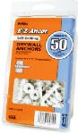 Itw Brands 25310 Drywall Anchors, Self-Drilling, Plastic, #75, 50-Pk. - Quantity 4