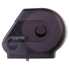 (6 Pack Value Bundle) SANR6500TBK Quantum Dispenser w/Stub Roll Compartment, 22 x 5 7/8 x 16 1/2, Black -