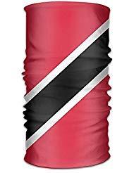 Flag Of Trinidad And Tobago Unisex Outdoor Sport Scarf Headbands Bandana Mask Neck Gaiter Head Wrap Sweatband Headwear ()
