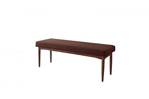 ベンチ 幅120cm (ブラウン) カバーリングタイプ B01EHSRLNY ベンチ|ブラウン ブラウン ベンチ