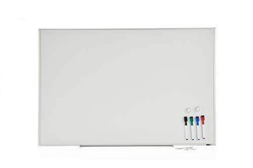 - INNOVART Magnetic Dry Erase Board, 48 x 36 Inch White Board/Whiteboard, Silver Aluminium Frame