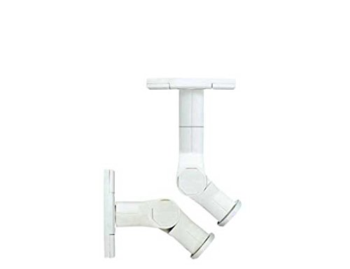 - Sanus Tilt and Swivel Wall Mount for Satellite Speakers (White) -WMS3W