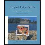 Keeping Things Whole: Readings in Environmental Science