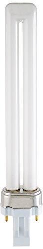 Sylvania 21136 Compact Fluorescent 2 Pin Single Tube 2700K, (Compact Fluorescent Lamp 2 Pin)