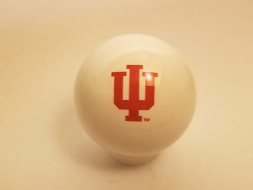 Indiana Hoosiers IU Shift Knob White ()