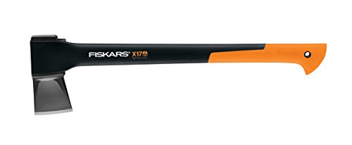 - Fiskars X17 Splitting Axe, 23.5-Inch