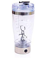 - ALF Vortex Mixer - personal protein powder shaker / blender bottle - powerful battery operated 16,000 RPM electric motor. USB Rechargeable. 100% leak proof & highly portable. No More Lumps.