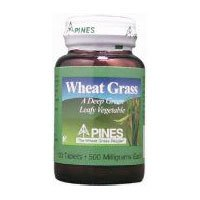 Pines Wheat Grass Tablet, 500 Mg - 100 per pack - 3 packs per - Wheatgrass Pines Tablets
