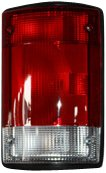 01 Tail Light Assembly - TYC 11-5007-01 Ford Passenger Side Replacement Tail Light Assembly