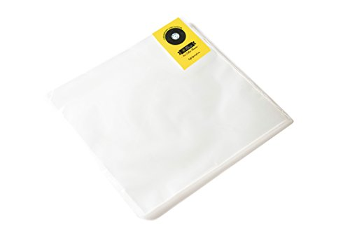 "50x Vinyl Record Outer Sleeves, 12"" LP - Crystal Clear, Not Cloudy, No Wrinkles! The Best Protection for Your Collection!"
