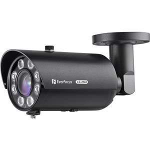 Everfocus EZ950FB IR Bullet Surveillance Camera, 2.24 MP Lens, Cmos 1080P, True Day/Night, White ()