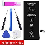 GOGO ROADLESS iPhone 7Plus Battery Replacement Kit, Complete Repair Tools Kit & Adhesive, High Capacity(2900mAh) Battery for iPhone 7 Plus - [12-Month Warranty]