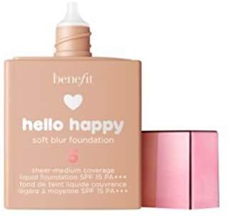 (Benefit Cosmetics Hello Happy Soft Blur Foundation Shade 5)